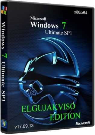 Windows 7 Ultimate SP1 x64 Elgujakviso Edition (v26.12.13) RUS