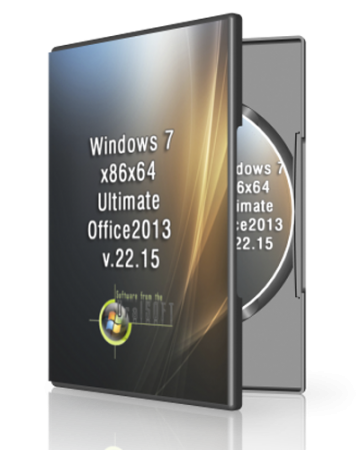 Windows 7 Ultimate SP1 Office2013 by UralSOFT v.22.15 (x86-x64) (2015) RUS