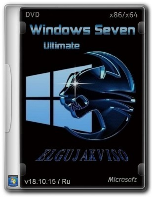 Windows 7 Ultimate SP1 (x86/x64) Elgujakviso Edition (2015) RUS