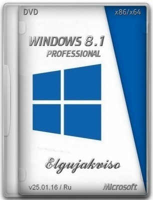 Windows 8.1 Pro VL (x86/x64) Elgujakviso Edition v25.01.16 (2016) RUS