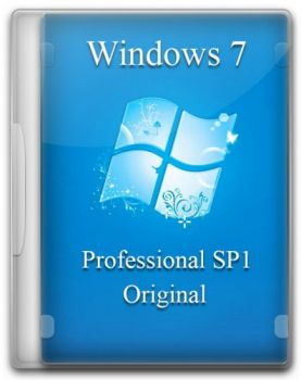 Windows 7 Professional SP1 Original by -A.L.E.X.- x86/x64 v.29.05.2017 (2017) RUS/ENG
